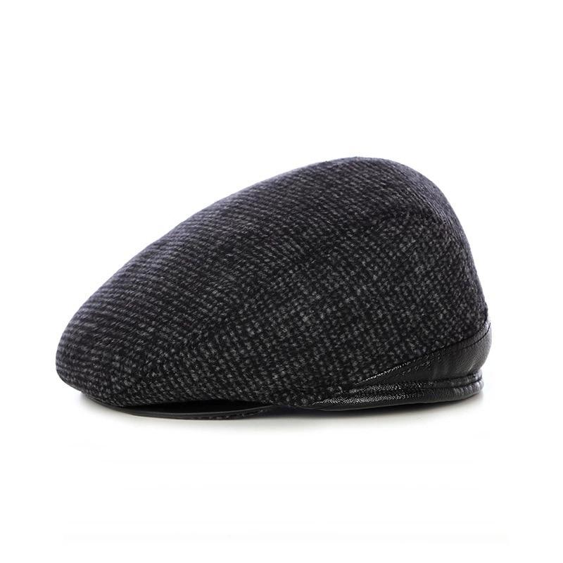 冬の屋外暖かい肥厚キャップエルダーピークキャップファッションベレー帽の帽子M-0645エルダー