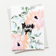 Bloom Flower Clear Stamps and Dies Set 2019 for Scrapbooking Card Making Embossing Crafts with