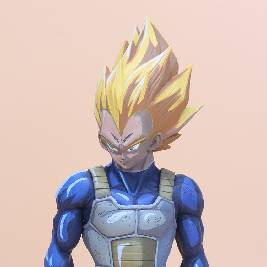 Anime Dragon Ball Z Vegeta Cartoon Color Vision Super Saiyan Msp