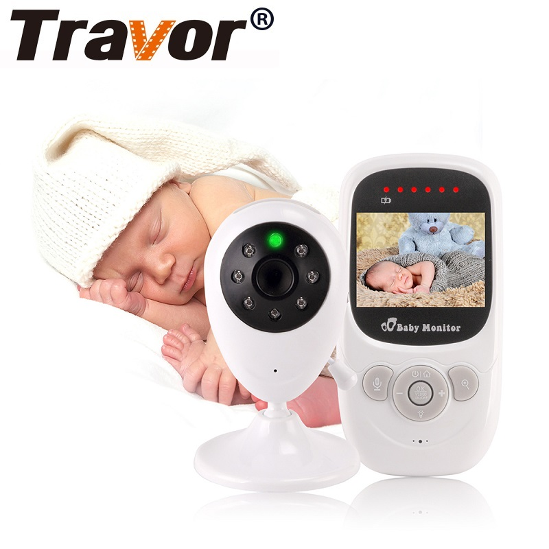 TRAVOR 2.4 inch Baby Monitor Wireless Video Color High Resolution Baby Nanny Security Camera Night Vision Temperature MonitoringTRAVOR 2.4 inch Baby Monitor Wireless Video Color High Resolution Baby Nanny Security Camera Night Vision Temperature Monitoring