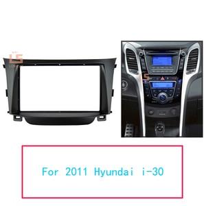 Image 1 - Double Din Car Radio Fascia for Hyundai I 30 I30 2011 2DIN Mount Kit Adapter Trim Facia Panel Frame Dashboard Panel