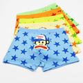 5Pcs/Lot Soft Cotton Kids Boys Underwear Cartoon Monkey Children's Baby Boxer Boy Underware Pants Briefs Underpants 3-13 Year