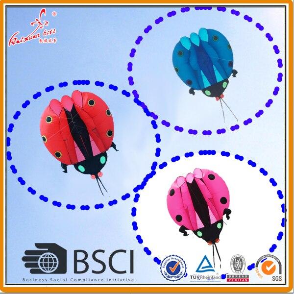 2 sqm Ladybug Kite soft kite show kite Lifter