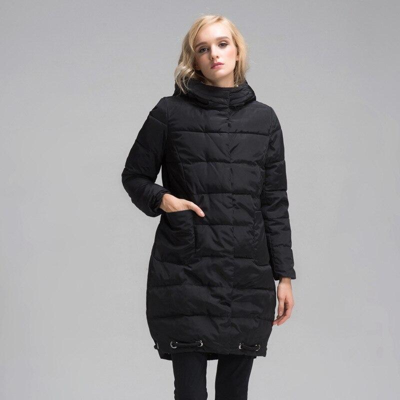 Plus Size Women Clothing L 6XL Ultra Light Hooded Down Jacket Coat veste hiver femme parkas