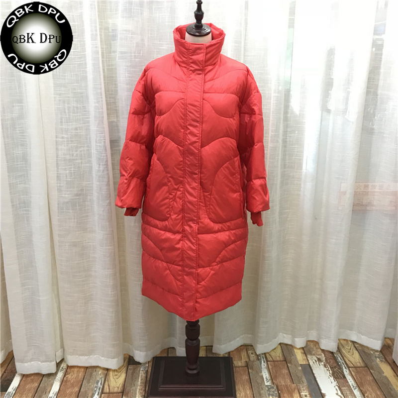 a33e154b0227 Fashion Europe casual loose Hooded White Duck Down Coat Women 2018 ...