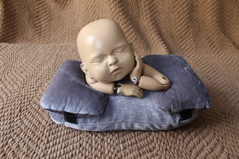 newborn baby pillow Set of 3 Positioning Pillows (filled) for Newborn Photography Posing Props