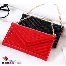 2017 последние моды флип бумажник сумочка style leather case for iphone 7 7 плюс 7 плюс женщины лакированной кожи телефон сумка обложка case