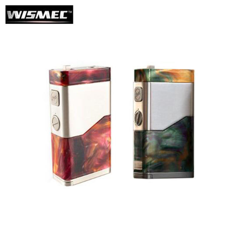 Original Wismec LUXOTIC NC 250W LUXOTIC NC Box MOD Electronic Cigarette Vape Fit Dual 18650 20700 Battery Guillotine V2 Tank