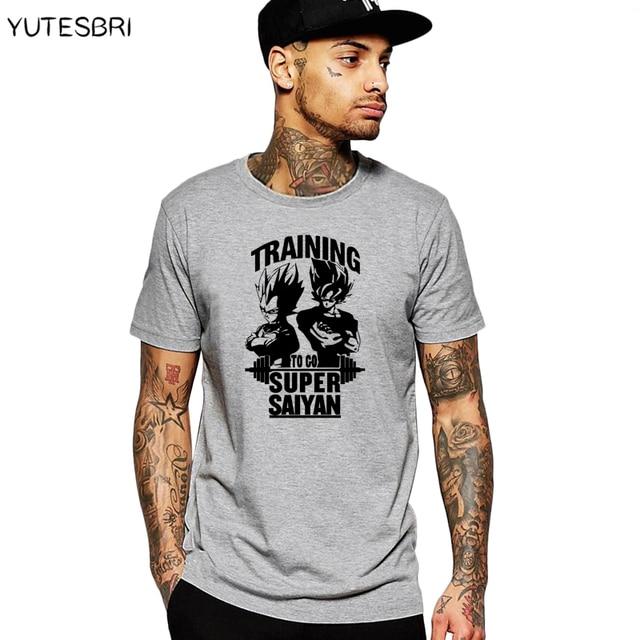 Novel tidal current dragon ball SON GOKU  tshirt slogan to go super saiyan men t shirt brand male clothing ringer tees