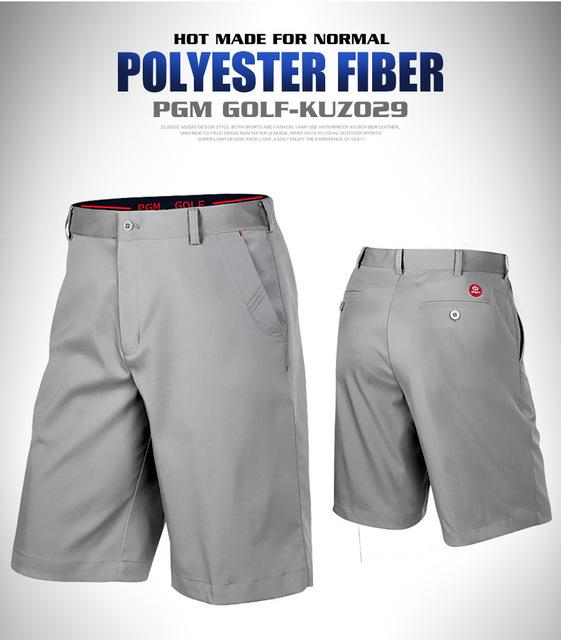 New PGM Authentic Golf Trousers Men's Shorts Thin Dry Fit Breathable XXS-XXXL