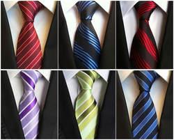 Фабрика Новинка 8 см Классический 100% шелковые мужские галстуки Цветочный горошек алмазные аксессуары ЖАККАРДОВЫЕ тканые для мужчин's