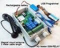 7 реле GSM-РЕЛЕ 4 Г GSM Дистанционного Управления (SMS Реле блок управления) 4 Г GSM gate открывания двери нагреватель модуль quad band 200 пользователей