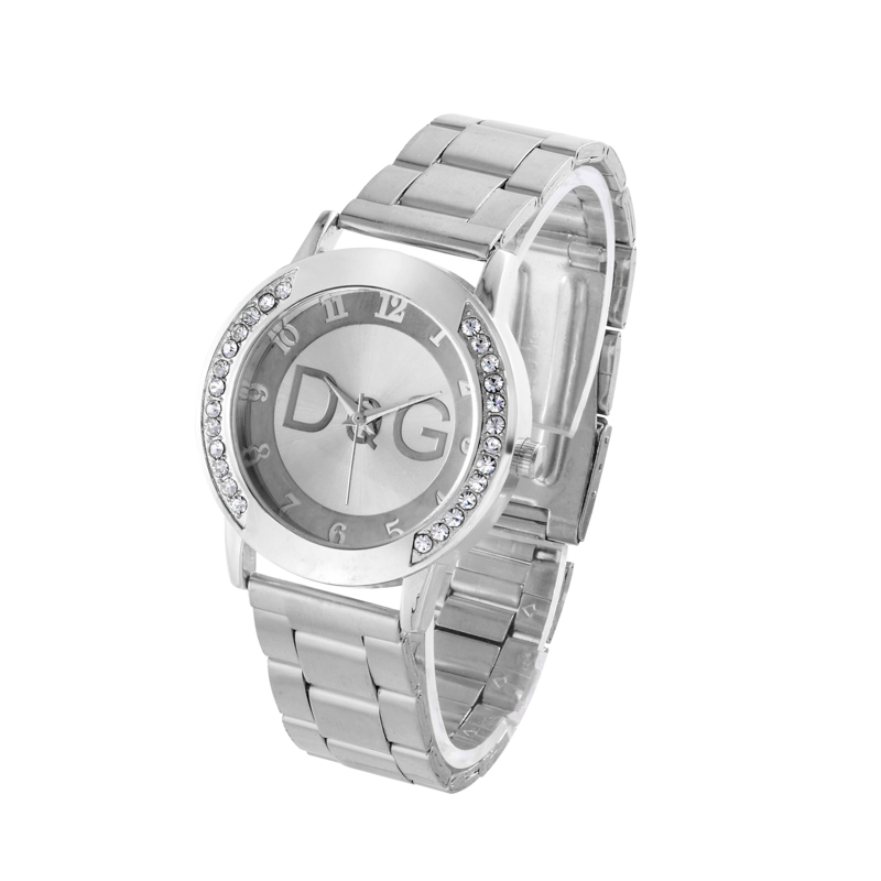 2018 Top Brand Luxury Bear Women Quartz Watch Relogio Stainless Steel Rhinestone Dress Ladies Watches Kobiet Zegarka Reloj Mujer