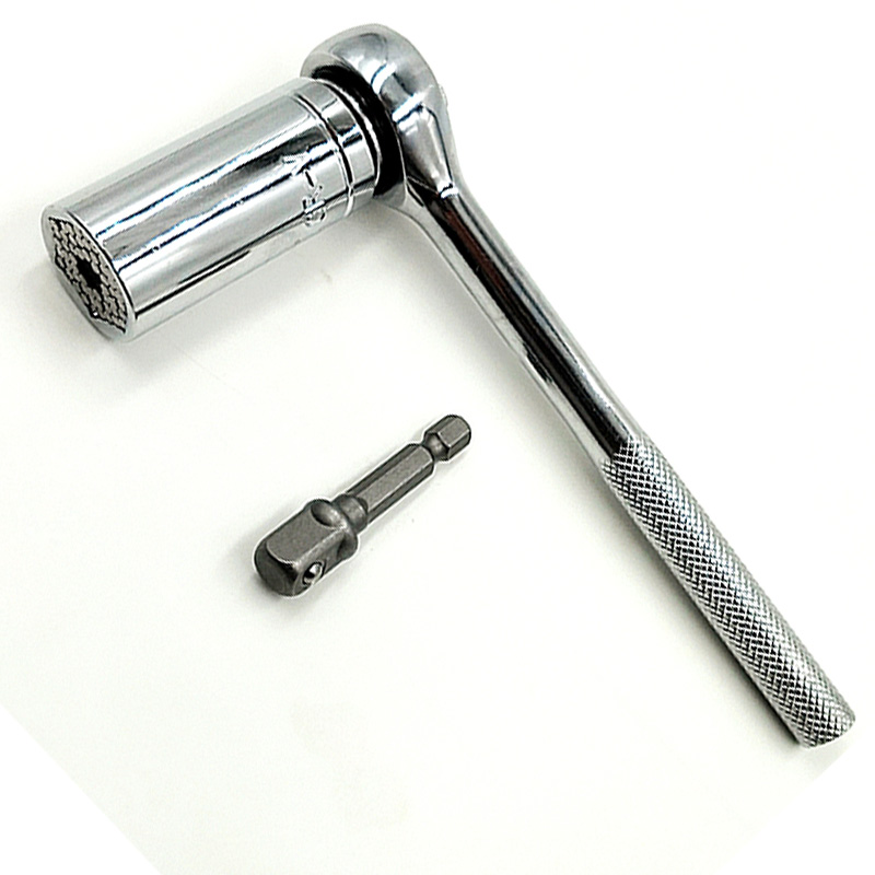 adjustable torque wrench Universal Wrench Ratchet Universal Socket 7-19mm Power Drill Adapter Wrench Combination universal key