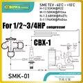 Комплект дроссельной заслонки (тев и автоматический расширительный клапан)-отличный выбор для водяных чиллеров 1/2 ~ 3/4HP  электрических корпу...