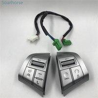 Soarhorse For Isuzu MU X Mux D MAX Dmax Multifunction Steering Wheel Audio Volume Bluetooth Cruise