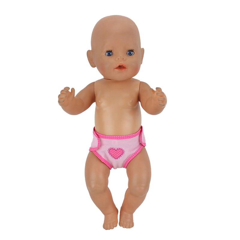 все цены на New Leisure diapers Wear for 43cm Baby Born zapf, Children best Birthday Gift онлайн