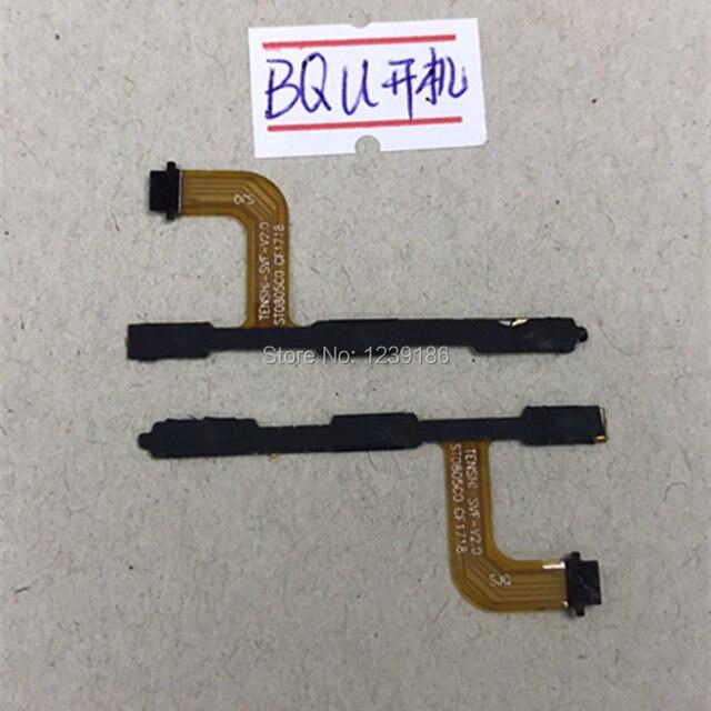 Alimentación/conector de botón de volumen del cable/línea de alimentación para BQ Aquaris U teléfono móvil