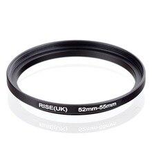 Original AUFSTIEG (UK) 52mm 55mm 52 55mm 52 bis 55 Step Up Ring Filter Adapter schwarz