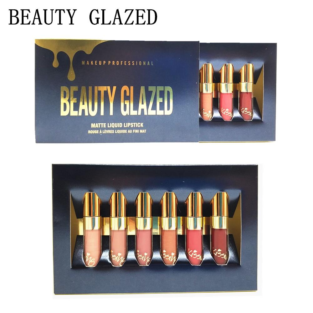 Back To Search Resultsbeauty & Health Lipstick Modest 10set/lot Beauty Glazed Liquid Lipstick Set 6 Colours In1 Matte Lipsticks Glitter Red Nude Velvet Easy To Wear Long-lasting Kits