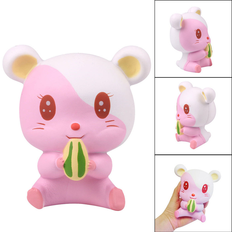 CCCZQ toy Adorable Hamster Scented Slow Rising Collection Squeeze Stress Reliever Toy Wholesale MAY 18