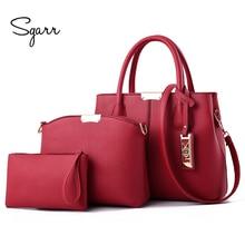 SGARR, высокое качество, женские Сумки из искусственной кожи, Новая модная женская сумка на плечо, женская сумка через плечо, Большая вместительная сумка-тоут