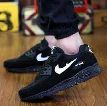 New authentic shoes air cushion slip lightweight men's casual shoes tide bottomed mesh breathable summer 2016 men