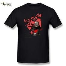 Fashion Boy Black Knight Tis But A Scratch Monty Python Tee Shirt Awesome Games T-Shirts