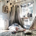 4 Colors Hanging Dome Play Tent Bed Curtain Tent Mosquito Net Baby Hung Teepees Play House For Kids Room Decor Nordic Style