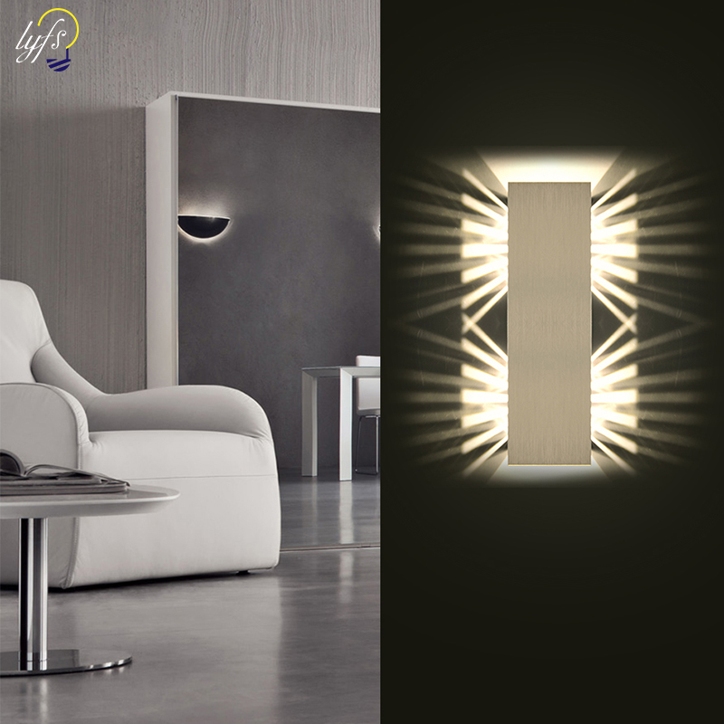 Modern Wall Sconce Lights 8W LED Room Wall Lights Up Down Aluminium Wall Lighting Lamps for Living Room Bedroom CorridorModern Wall Sconce Lights 8W LED Room Wall Lights Up Down Aluminium Wall Lighting Lamps for Living Room Bedroom Corridor