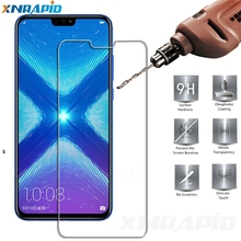 2PCS Screen protection glass is suitable for huawei Honor 8X MAX screen