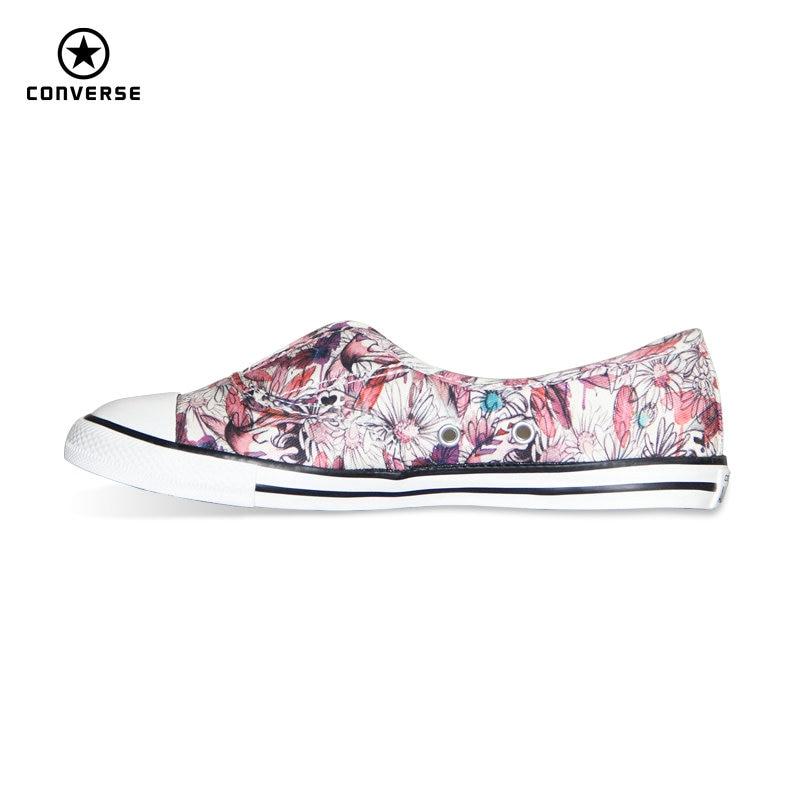 Original Converse All Star women sneakers Flower color light Popular summer canvas Skateboarding Shoes 552923C