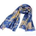 graffiti doodle cotton tassel scarf women hijab cachecol foulard inverno poncho foulard femme sjaal kwasten  foulards femme