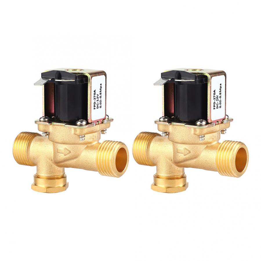 """DC24V Electric Solenoid Valve for Water 1//2/"""" electric magnetic valve 0MPA"""