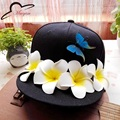 Original Handmade Brand Snapback Cap Outdoor Cap Men Women Adjustable Hip Hop Black Snap back Baseball Caps Flower Hats Gorras