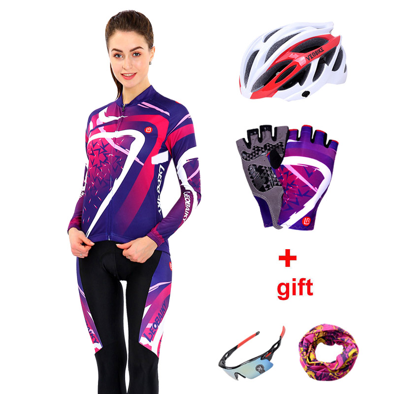2018 Pro Team Cycling Jersey Set Men Summer Long Sleeve Women Bicycle  Clothing MTB Bike Clothes Fitness Sportswear Cycle Dress-in Cycling Sets  from Sports ... cb5828752