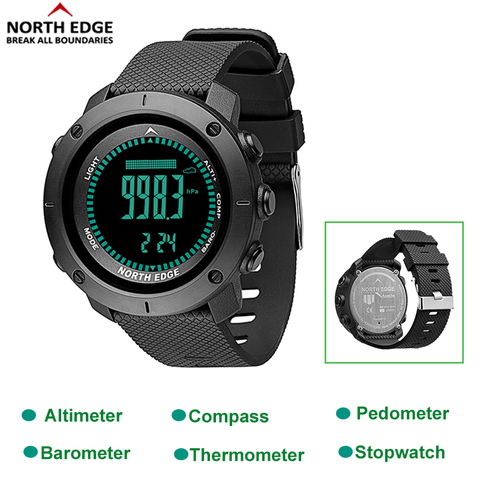 Outdoor Sport Waterproof 50M Men Smart Watches Digitale LED Altimeter Barometer Stopwatch Thermometer Alarm Clock Watch Karachi