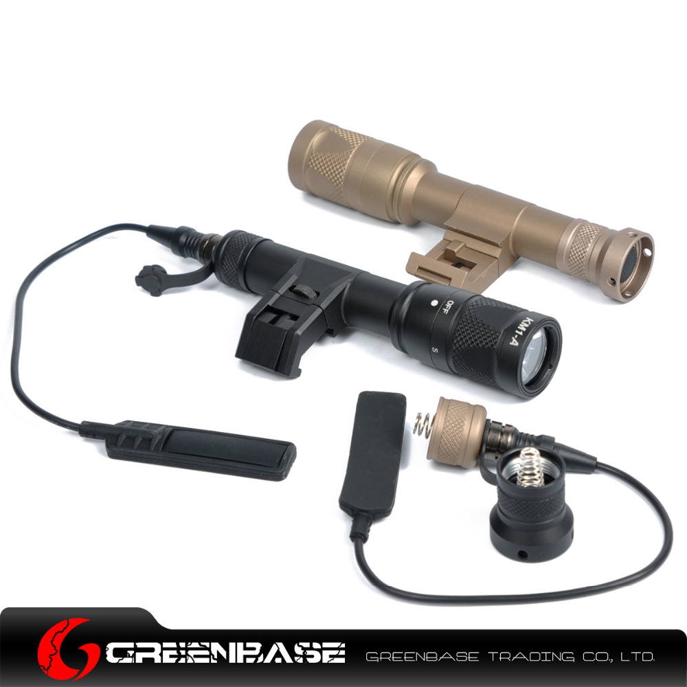 ФОТО Greenbase IFM-M600V Dual Output Flashlight Black/ Dark Earth