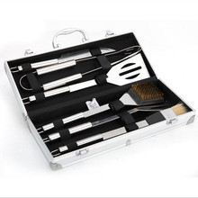 Wnnideo Barbecue Tools Set – Stainless Steel BBQ Grilling Tools Set With Deluxe Case