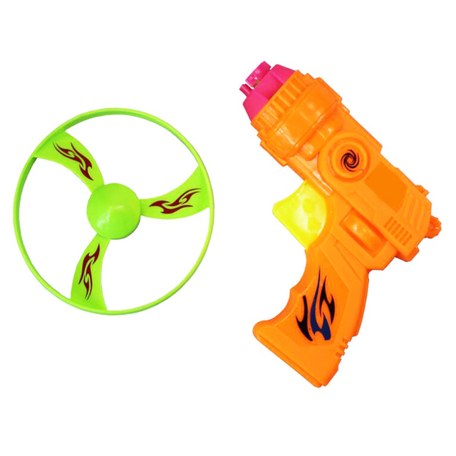 1pc Novelty Flying Saucer Flywheel Outdoor Sports Toys Outdoor Games for Children Educational Plastic Sporting Toy Cute Gifts