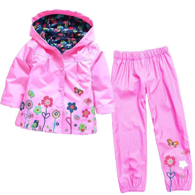 2016 new children suit (hoodie + pants), children's hoodies, children's jacket, girl suits, children raincoat, coats and jackets