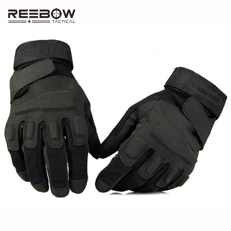REEBOW TACTICAL Men Outdoor Military Gloves Full Finger Breathable USA Army Training Fishing Urban SWAT Assault Combat Working