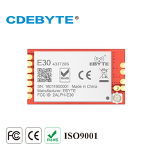 CDETYTE E31-TTL-2W 433 MHz wireless transceiver SMD module SI4438 Long Range 2000m 433mhz rf transmitter and receiver module  цена 2017