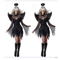 Halloween Cosplay Costume Apparel Demons The New Dark Angel Outfit Sexy Movie Role Playing