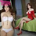 Силиконовые Секс Куклы для мужчин 165 см Оральный Анальный Реалистичным натуральную величину влагалище большая грудь секс love doll мужской мастурбатор взрослые игрушки