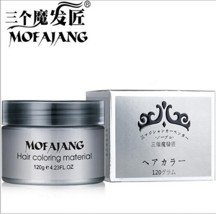 Sale Mofajang Hair Color Wax Dye One Time Molding Paste Seven Colors
