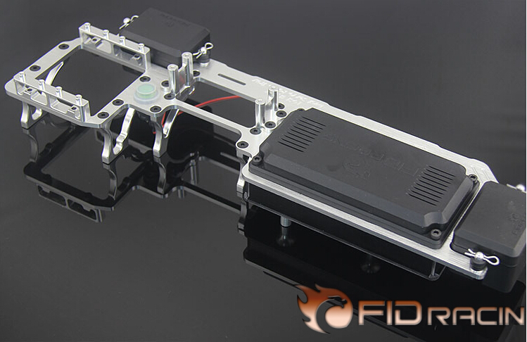 FID 2015 version dual steering rack systems FOR LOSI 5IVE-T fid rear suspension reinforcement bracket for losi 5ive t losi mini wrc free shipping