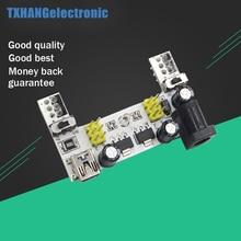 MB102 White Breadboard Power Supply Module 3.3V 5V For arduino Solderless power shield power supply board 5v 350ma for arduino aaa 2 battery gm