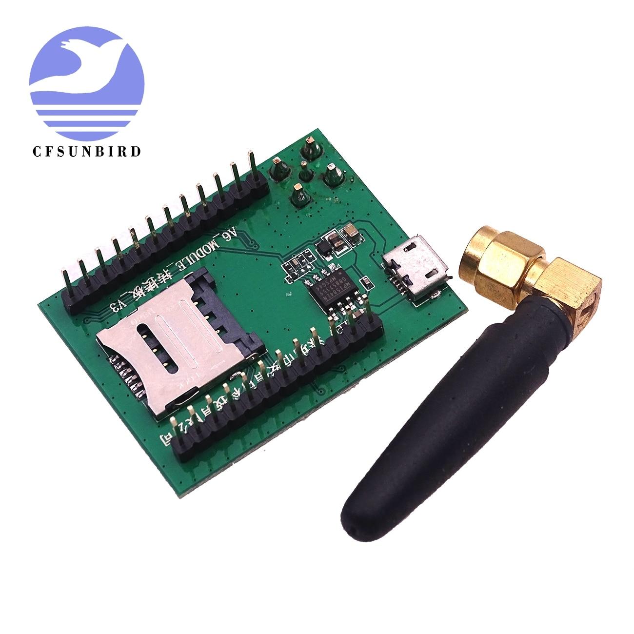 US $4 94 20% OFF|1Pcs/Lot ESP8266 Smart Electronics Gsm a6 GPRS Module GSM  Module A6 \ SMS \ Speech \ Board \ Wireless Data Trans Adapter Plate-in