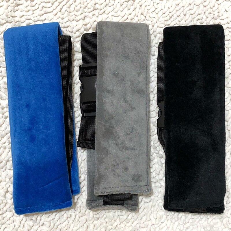 Черного, серого и синего цвета детская корзина проводов безопасное детское сидение сон подушка помощи для малышей и детей постарше головка Поддержка держатель Регулируемый ремень